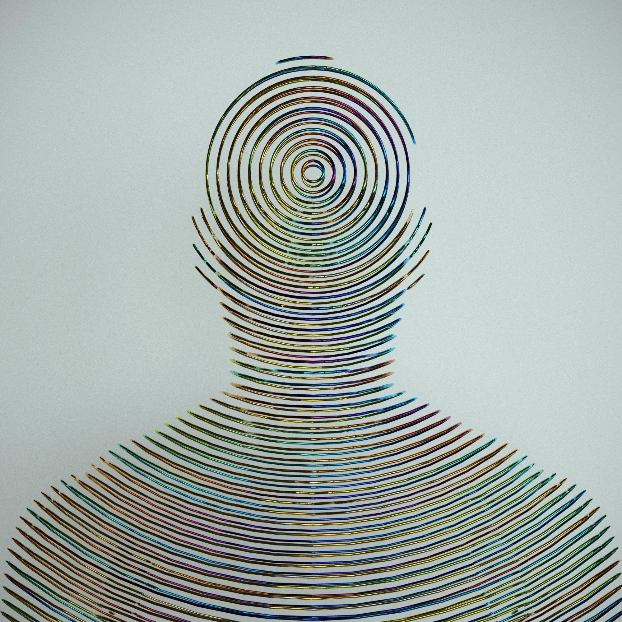 Telepathy - 3D, digital, sculpture - z3rogravity | ello