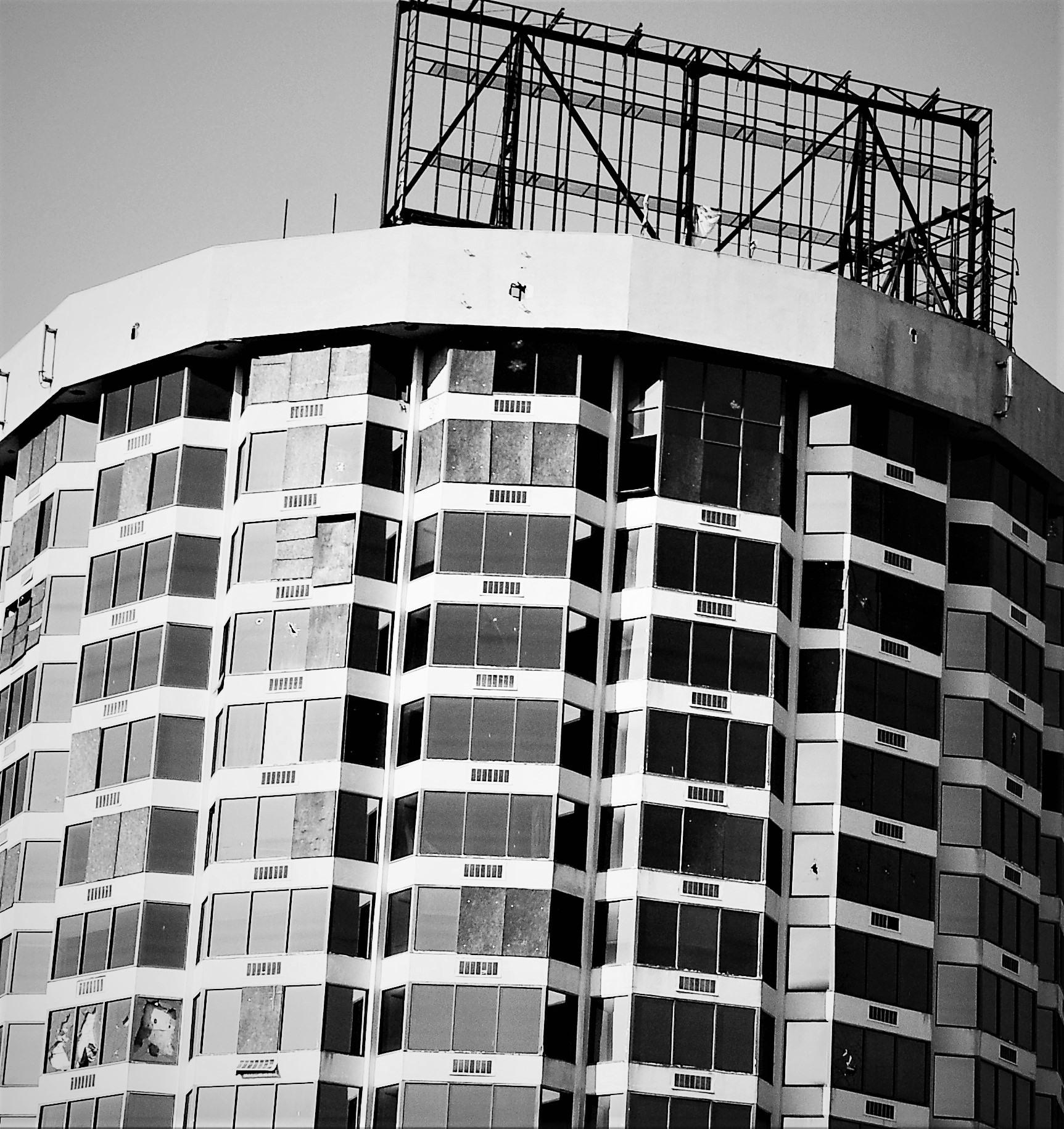 Derelict - blackandwhite, architecture - drewsview74 | ello