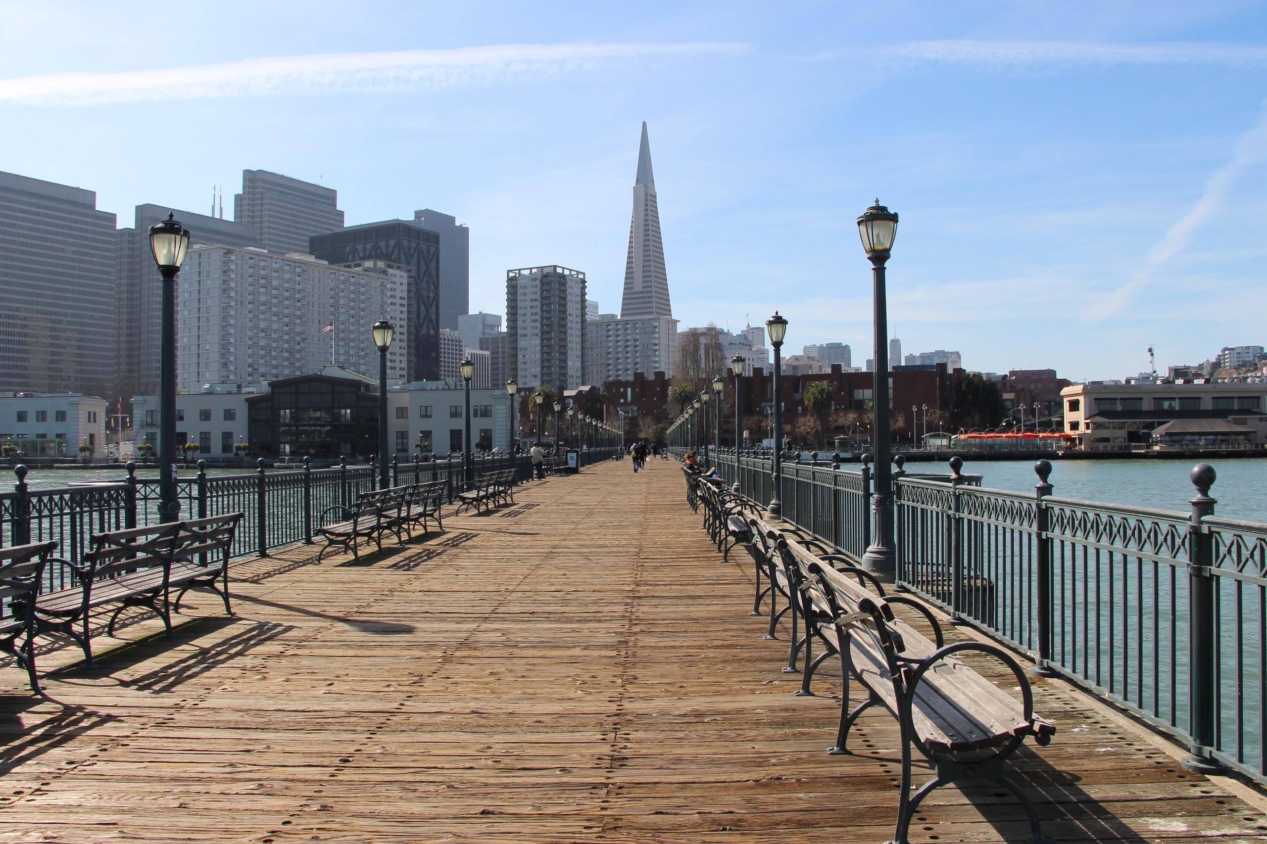 Pier 14, San Francisco Sleeping - phoenixk | ello