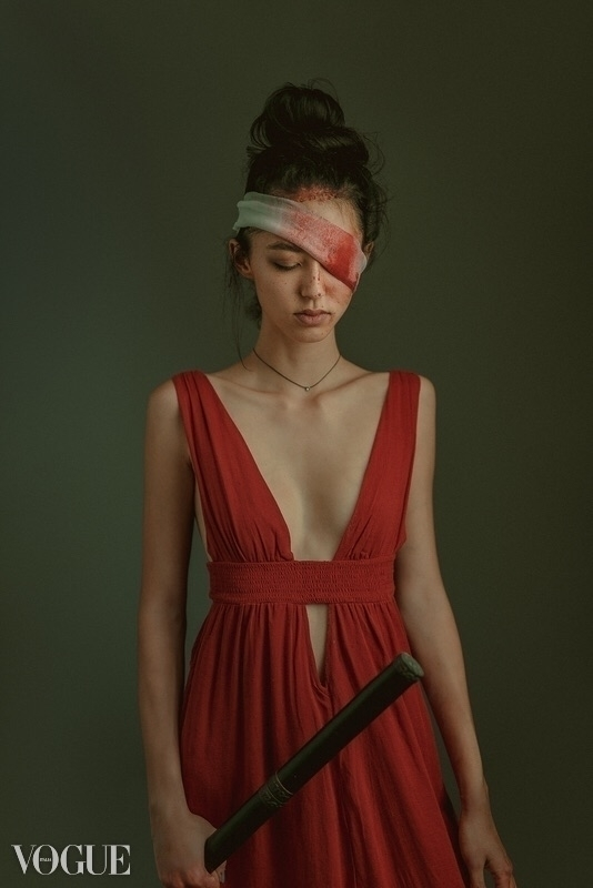eyed samurai Sydny Furuichi - vogue - kingvuddha | ello