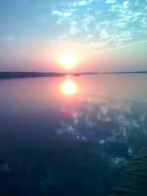 Sunset River Shore Padma - itsafzalsheikh | ello