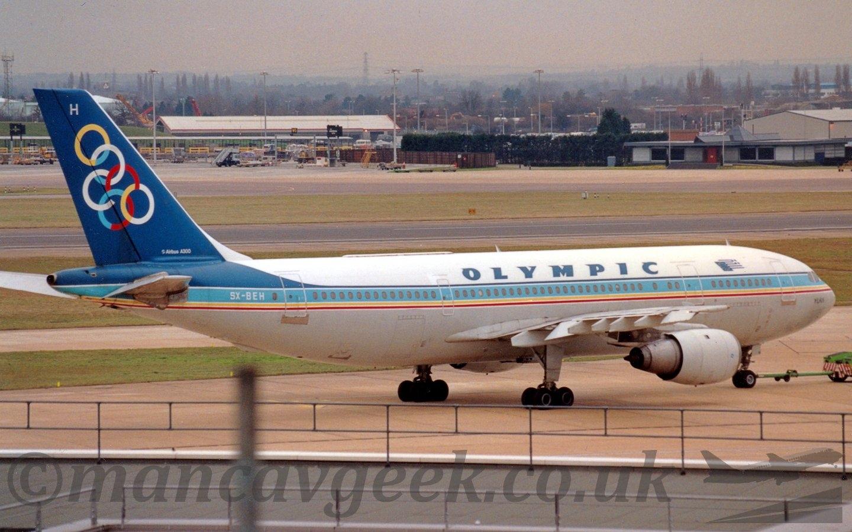 SX-BEH, A300B4, Olympic Airways - mancavgeek | ello