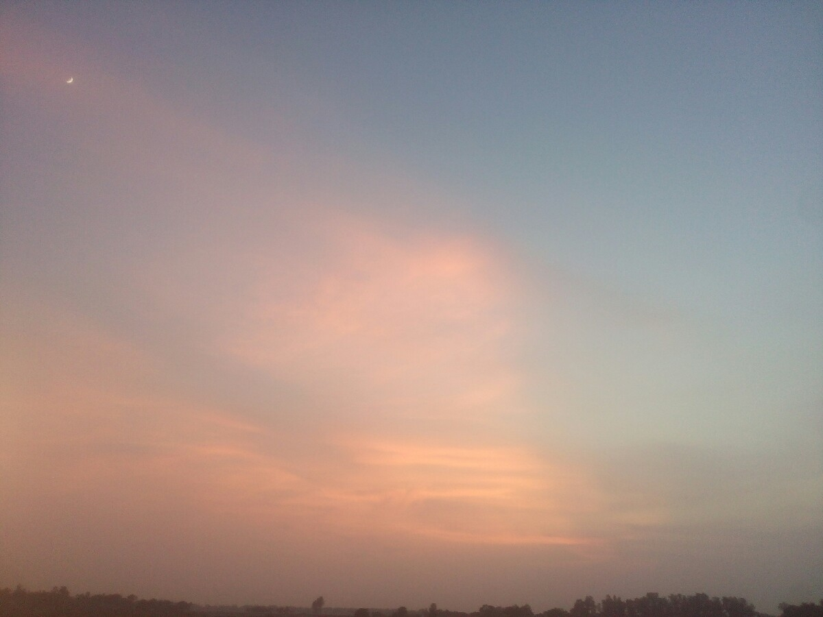 Awesome beautiful sky - itsafzalsheikh | ello