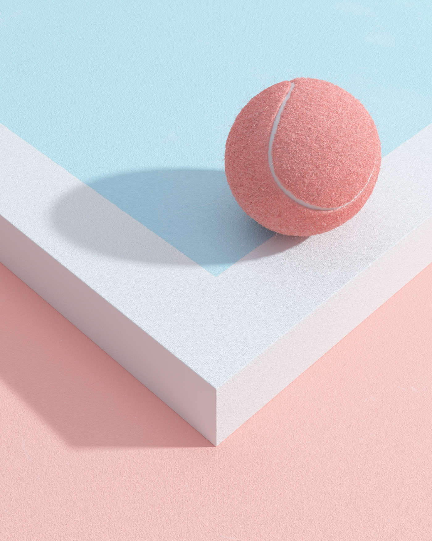 TENNIS Table-Tennis - surreal, minimalism - molistudio | ello