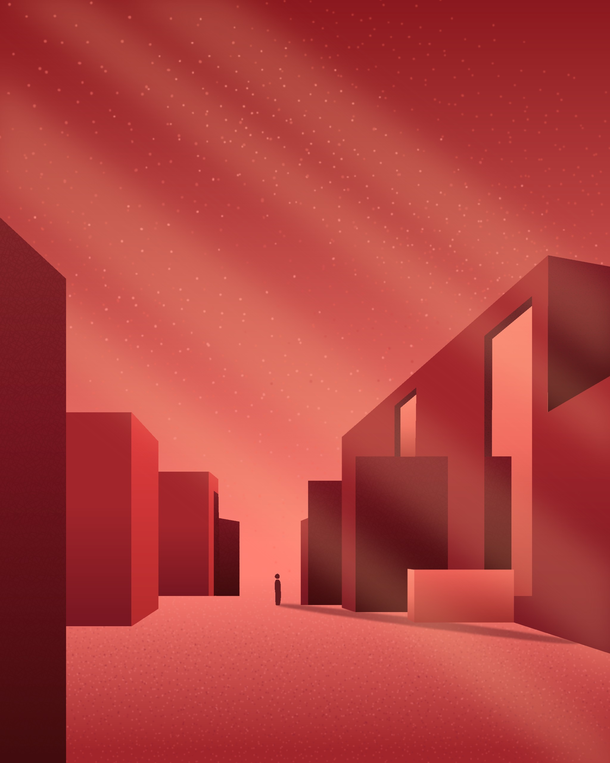abstract gallery - illustration - gunimation | ello