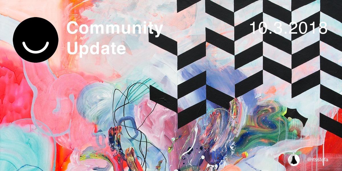 Community Update 10/3/2018 folk - elloblog | ello