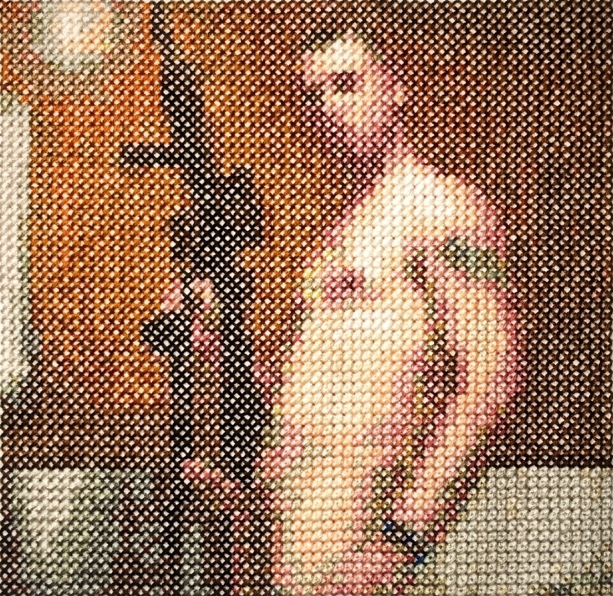commando 3, cross stitch, 5 1/4 - aubrey | ello