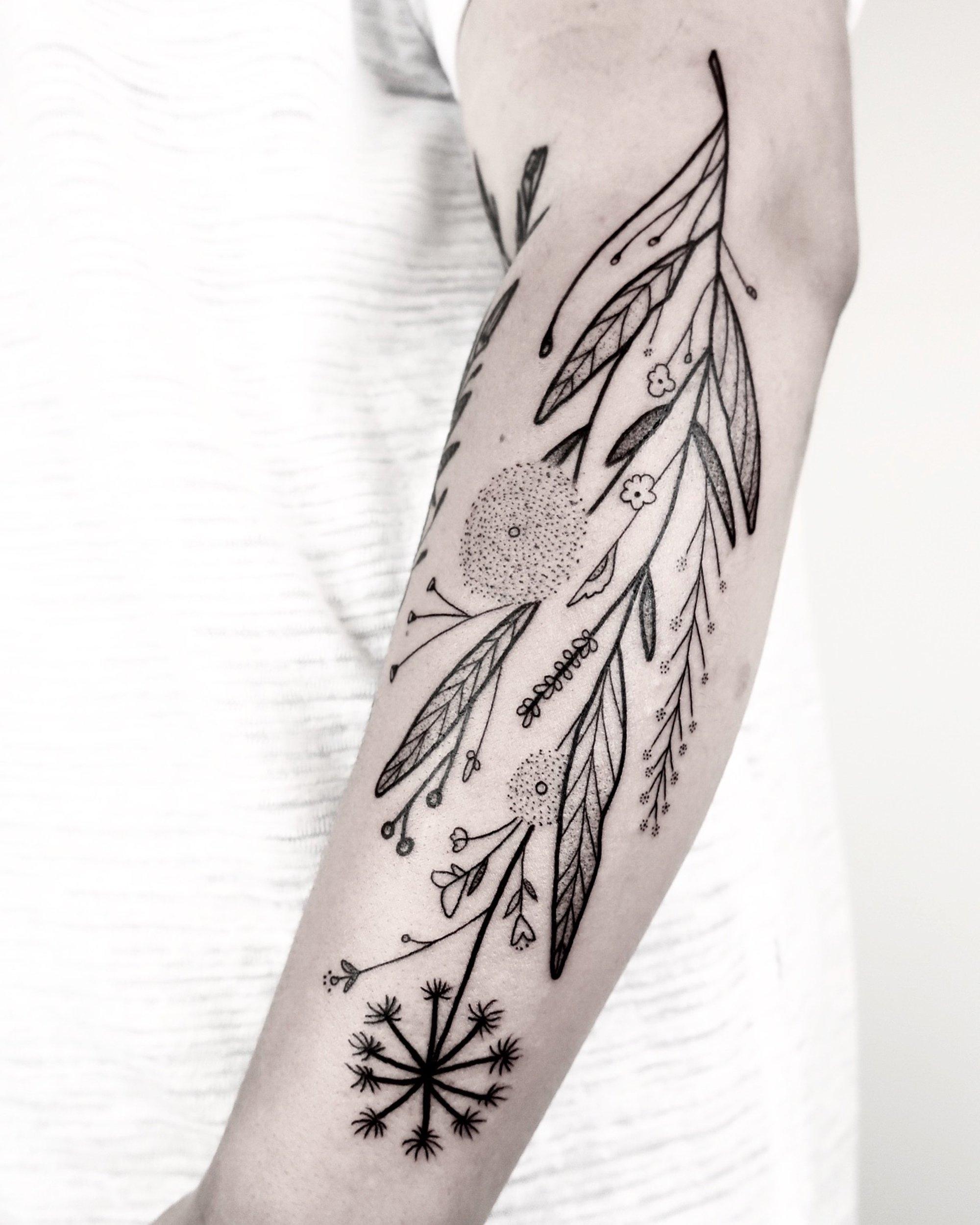 Flowers Bloom Die: Tattoos Dani - scene360 | ello