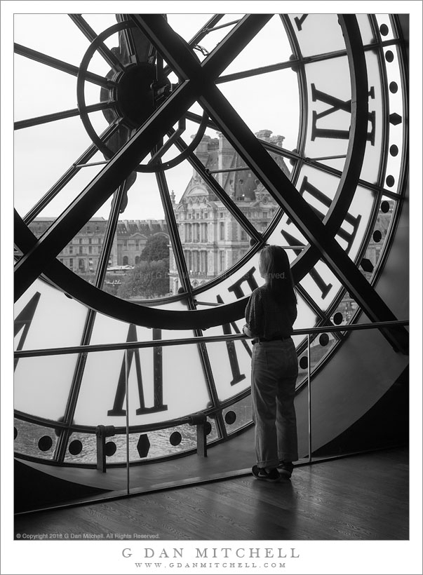 Woman Clock. Copyright 2018 Dan - gdanmitchell   ello