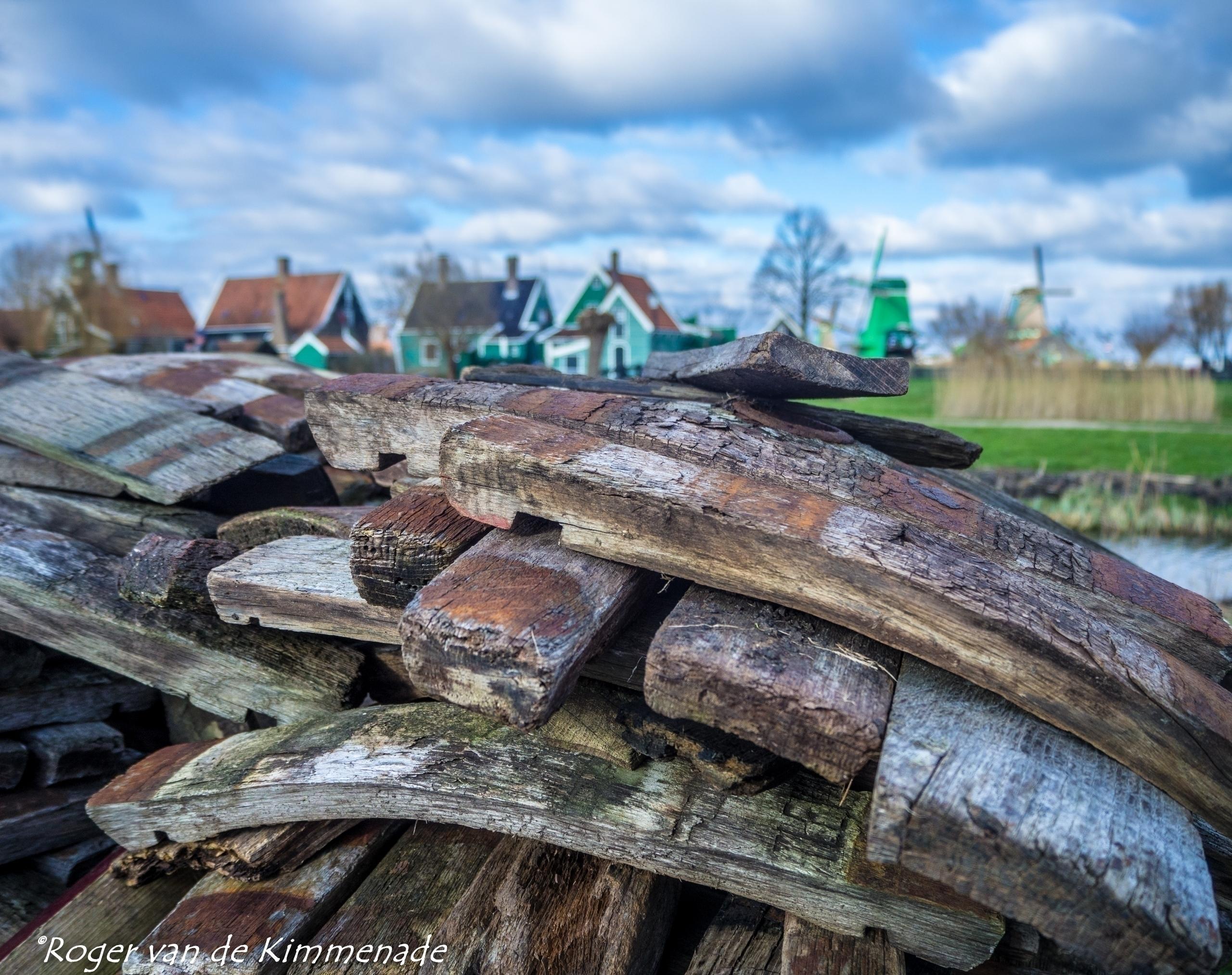 Typical Dutch wood mills - Netherlands - rvdkimmenade | ello