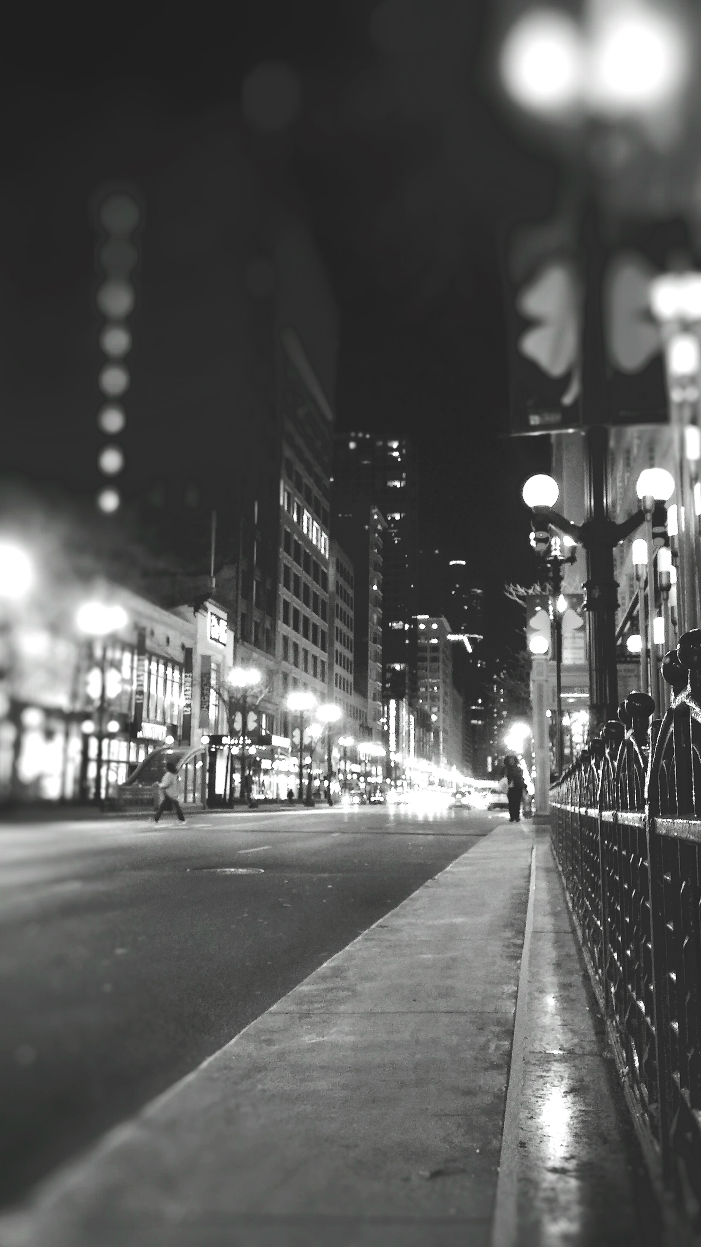 Night Chicago - blackandwhitephotography - ranjiroo | ello