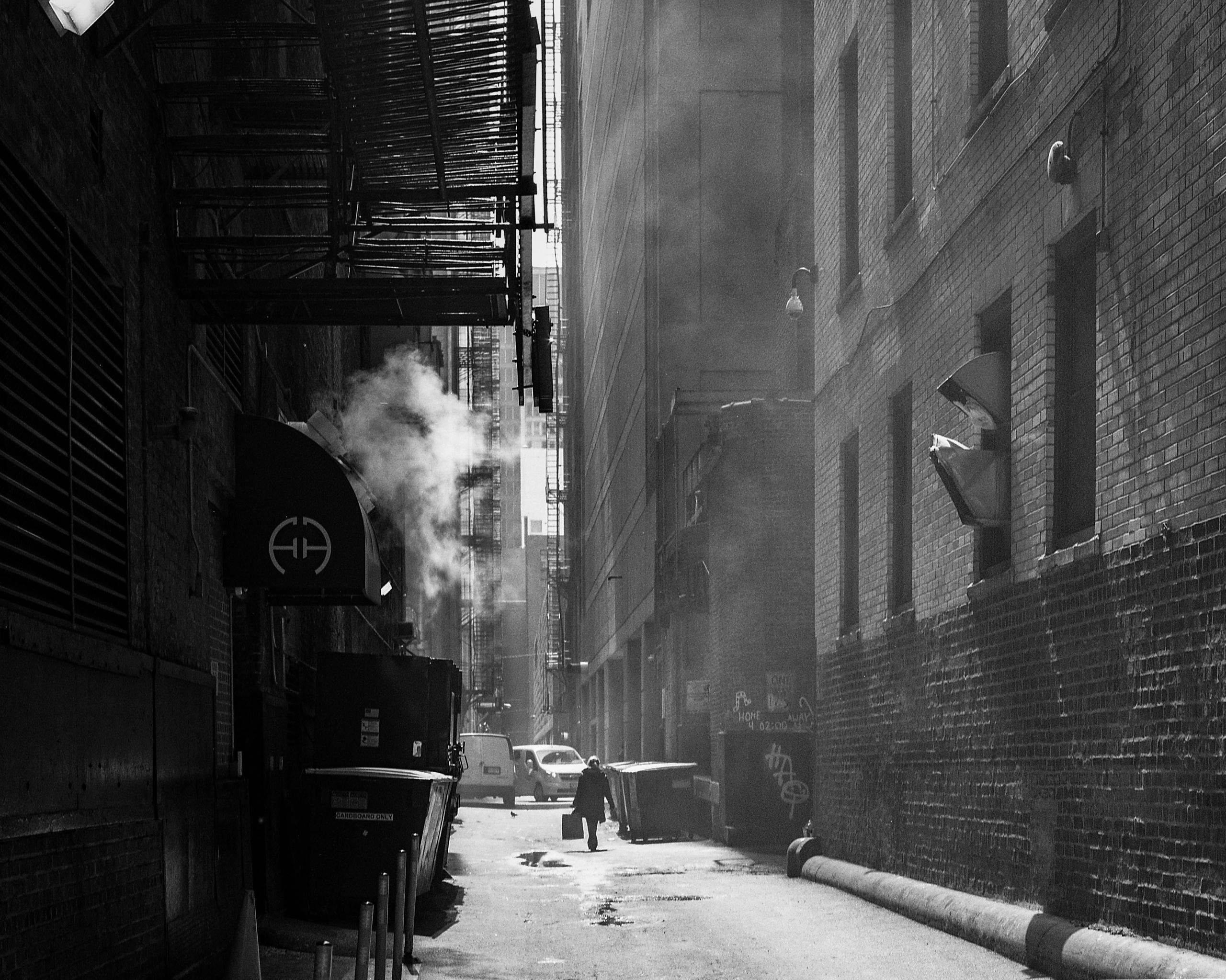 Chicago backstreets Mamiya 645  - junwin | ello
