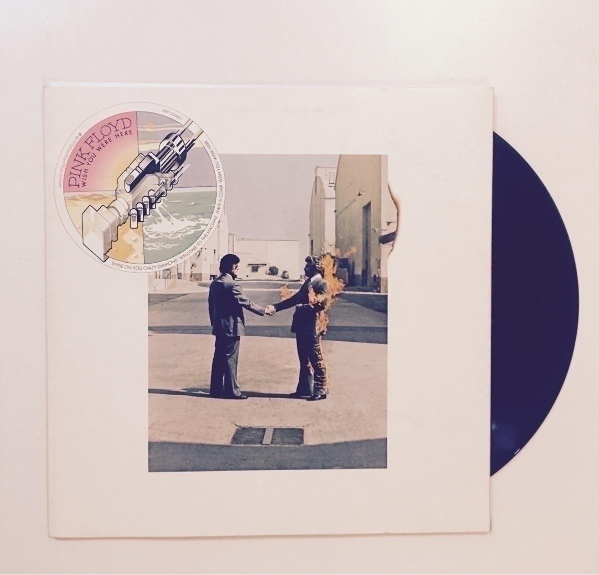 Pink Floyd kind night. 1975 - vinyl - darkskieskindeyes | ello