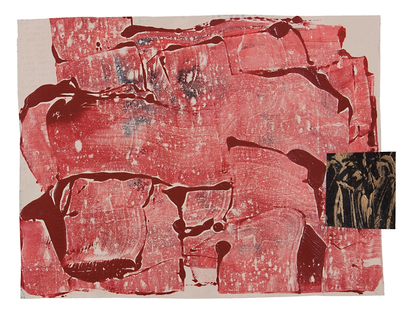 Firebird, acrylic paper (2015 - tony_saunders_art - yowzer | ello