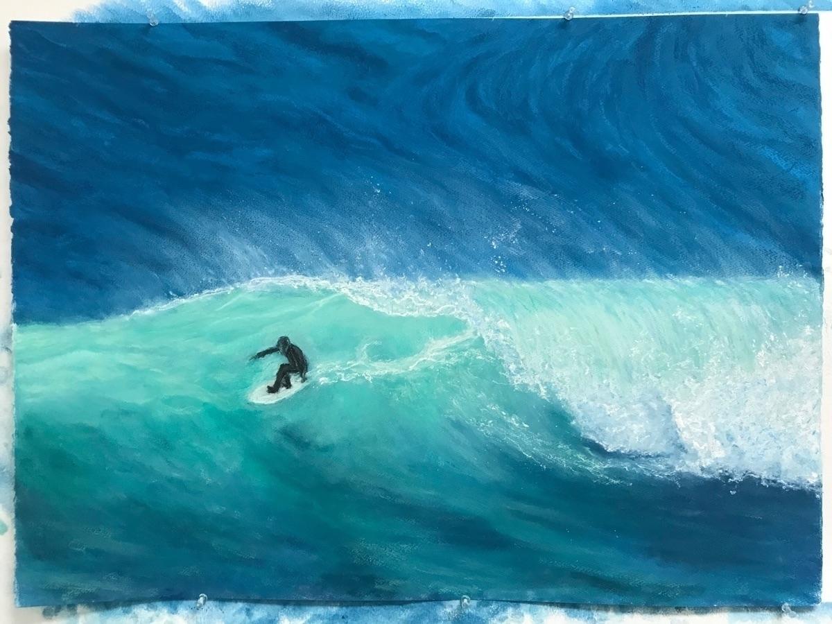 Progress fish painting - fishsurfboards - sgehring | ello