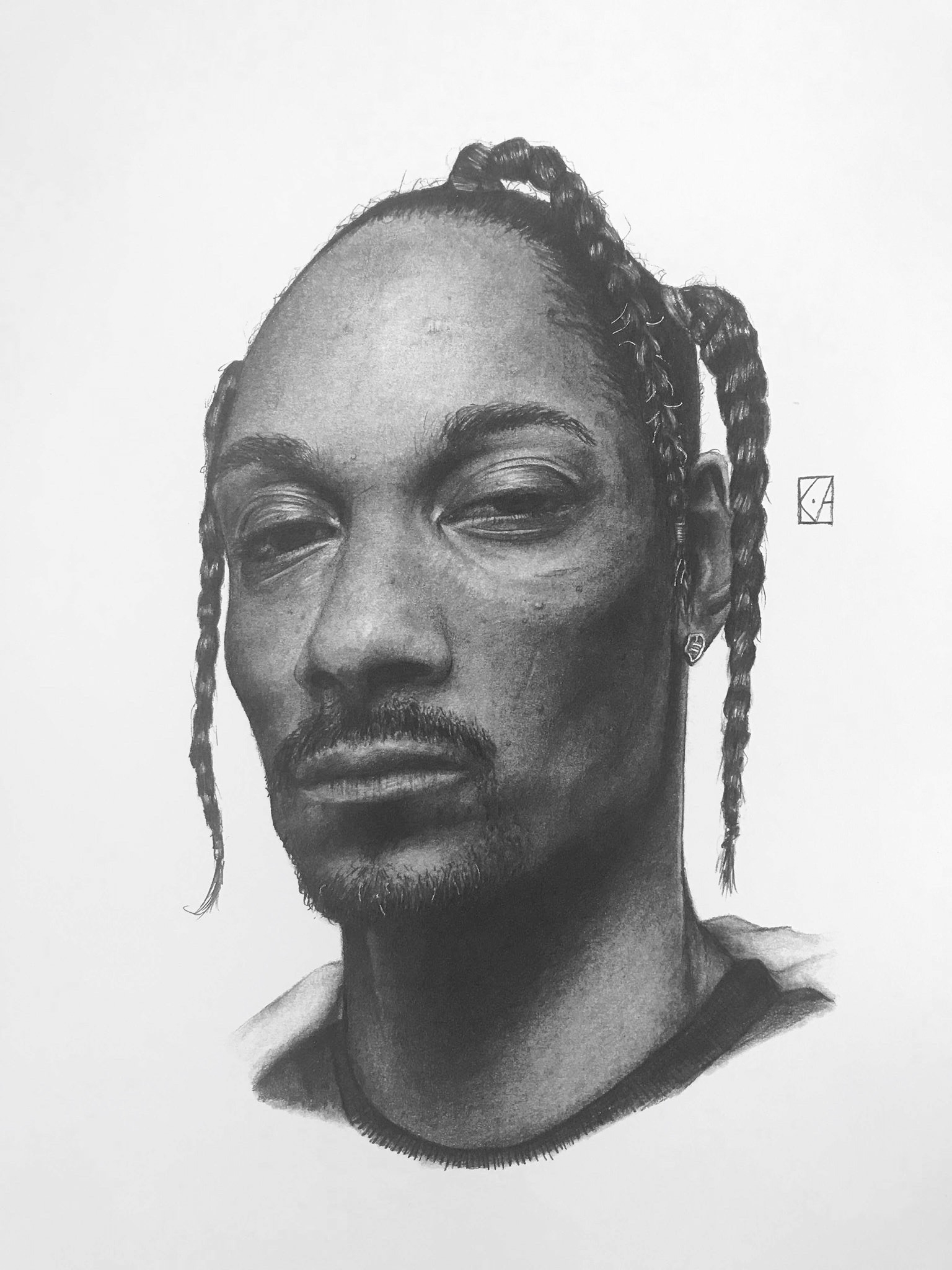 SNOOP DOGG - PENCIL PAPER - ello - kyleadamsss | ello