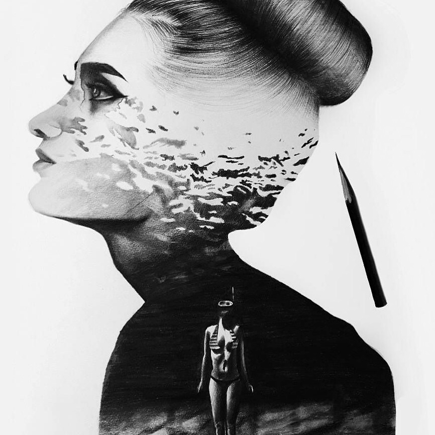expressing - art, black, imagination - illustrate_artistry | ello
