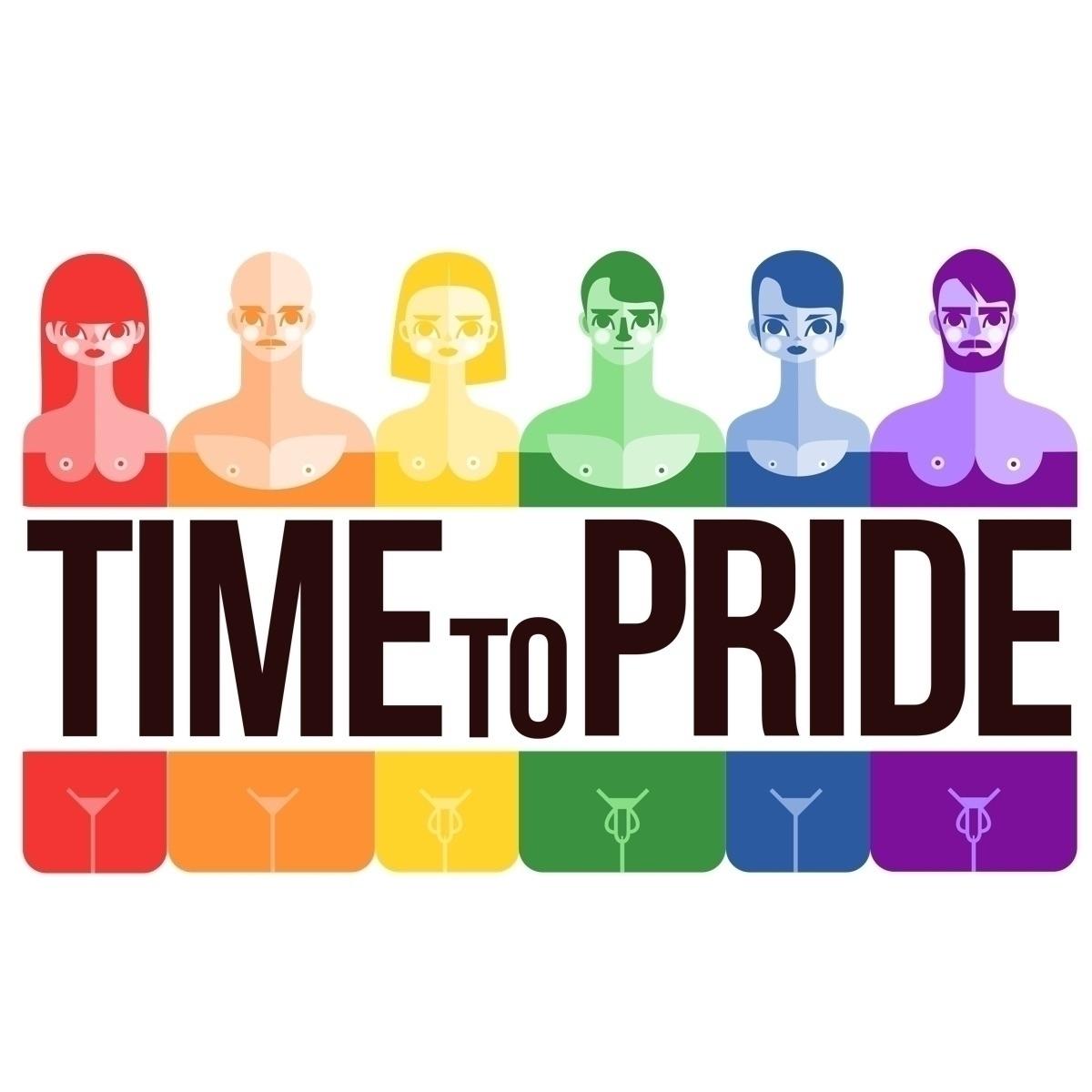 Time pride, celebrate fight - lgtbqartist - castanoart | ello