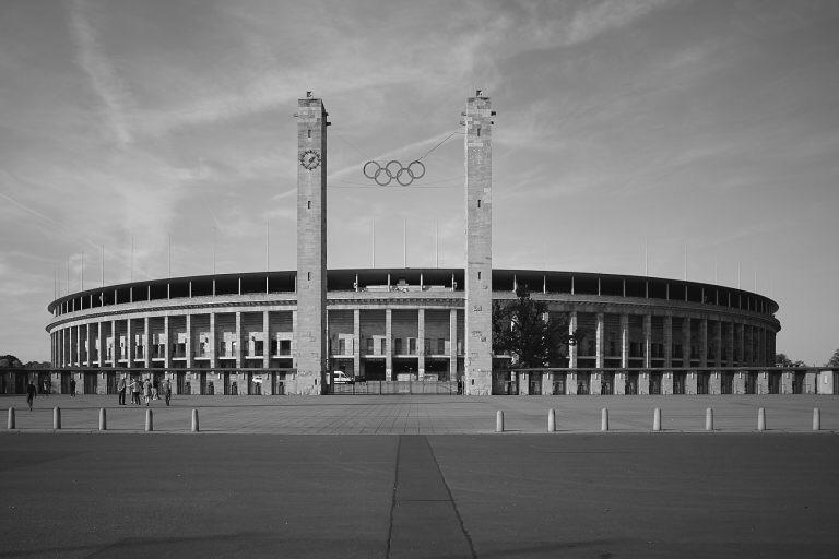 berlin, Olympia, stadium, blackandwhite - jensrun   ello
