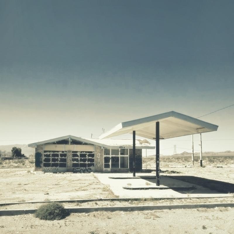 Gasoline Station, Baker, Califo - dispel   ello