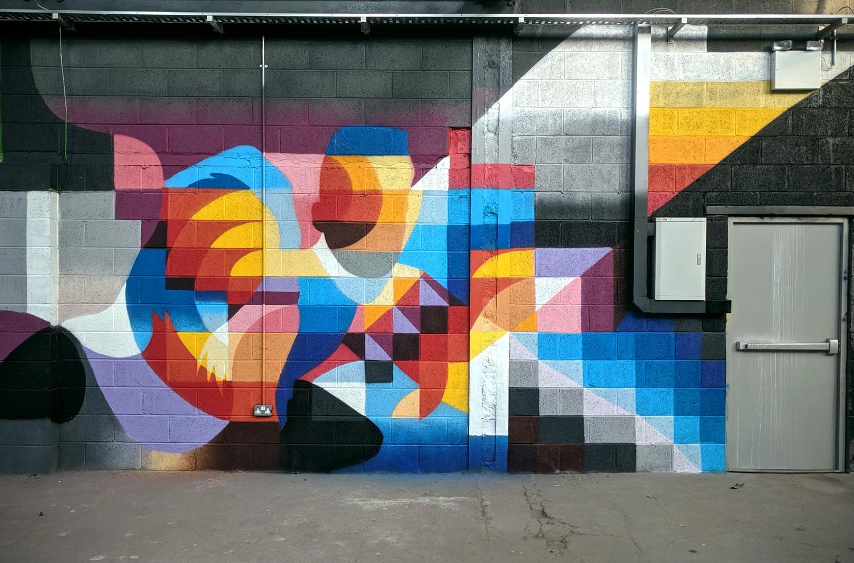 Painted yesterday  - art, mural - shaneomalleyart   ello